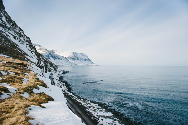 snowy coast photo