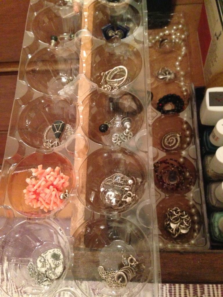 Drawer organizer jewelry